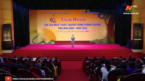 Liên hoan các CLB nghệ thuật truyền thống không chuyên tỉnh Ninh Bình năm 2020