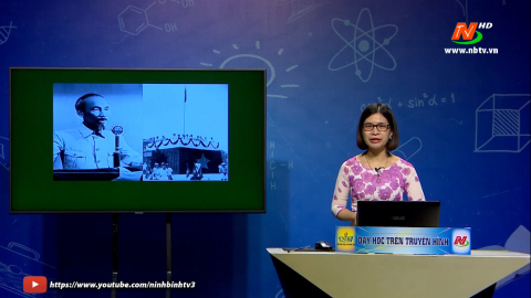 Lớp 12: Chủ đề: Nước Việt Nam Dân chủ Cộng hòa từ sau ngày 2-9-1945 đến trước ngày 19-12-1946