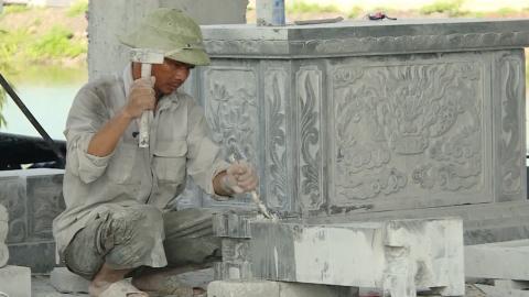 Mở rộng quy mô làng nghề đá mỹ nghệ Ninh Vân