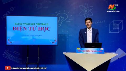 Môn Vật lí: Tổng kết chương II - Điện từ học | Dạy học trên Truyền hình