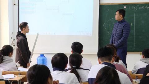 Ngành giáo dục Ninh Bình tiếp tục đổi mới phương pháp dạy và học