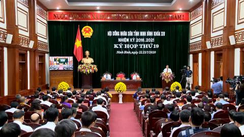 Ngày làm việc thứ nhất, Kỳ họp thứ 19, HĐND tỉnh khóa XIV