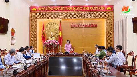 Nghiên cứu, biên soạn, xuất bản lịch sử Đảng bộ tỉnh Ninh Bình
