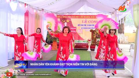 Nhân dân Yên Khánh đặt trọn niềm tin với Đảng