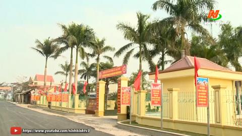 Nhiều đổi thay từ xây dựng nông thôn mới tại xã Thanh Lạc huyện Nho quan