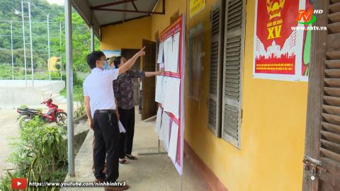 Nho Quan phát huy vai trò của thành viên tổ bầu cử.