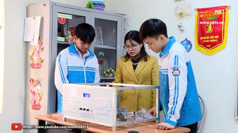 Những học sinh đam mê nghiên cứu khoa học