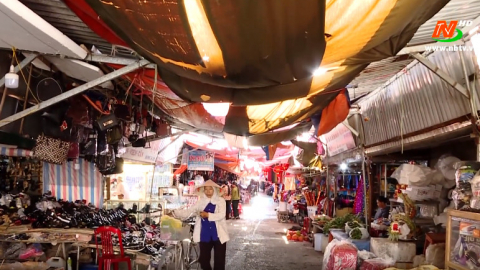 Những vấn đề cử tri quan tâm: Chuyển đổi mô hình quản lý, kinh doanh chợ ở Kim Sơn