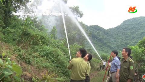 Những vấn đề cử tri quan tâm: Công tác phòng chống cháy rừng trong mùa nắng nóng