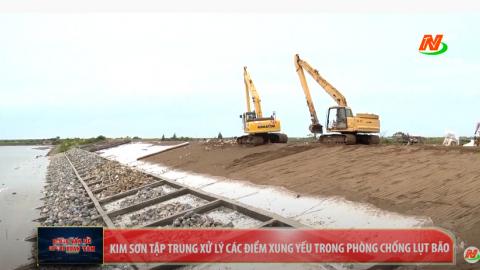 Những vấn đề cử tri quan tâm: Kim Sơn tập trung xử lý các điểm xung yếu trong phòng chống lụt bão