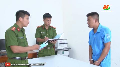 Ninh Bình bắt giữ đối tượng siết cổ lái xe, cướp taxi