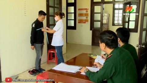 Ninh Bình thực hiện tốt công tác khám sơ tuyển công dân nhập ngũ