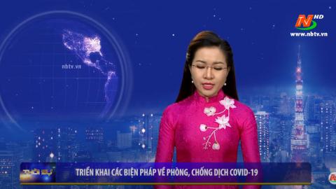 Ninh Bình: Triển khai các biện pháp về phòng, chống dịch COVID-19 - 26/07/2020