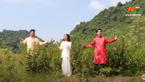 Non sông ngàn năm gấm vóc - Biểu diễn: Huy Vũ - Ly Ly - Minh Huấn