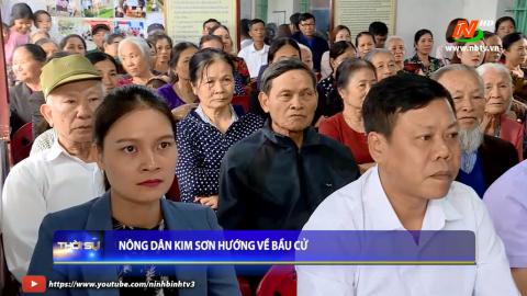 Nông dân Kim Sơn hướng về bầu cử
