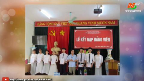 Phát triển Đảng trong học sinh ở trường THPT Kim Sơn A.