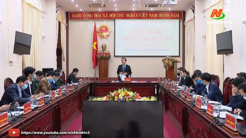 Phiên họp thường kỳ UBND tỉnh tháng 3/2021