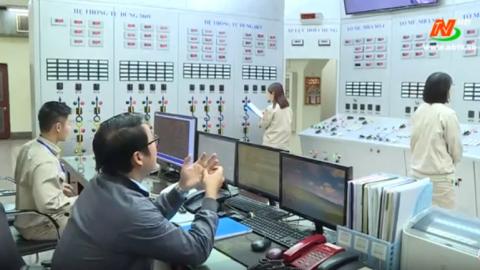 Phóng sự: Công ty CP Nhiệt điện Ninh Bình nâng cao hiệu quả sản xuất