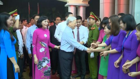 Phóng sự: Văn phòng Tỉnh ủy Ninh Bình - 90 năm xây dựng và trưởng thành