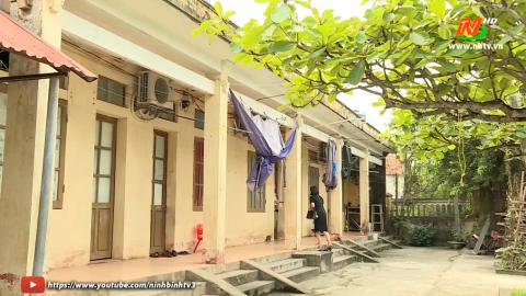 Quan tâm sửa chữa nhà công vụ cho Giáo viên trường THPT