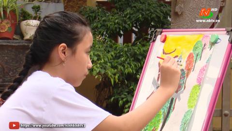 """Sức lan tỏa của cuộc thi vẽ tranh""""Ninh Bình quê hương em"""""""