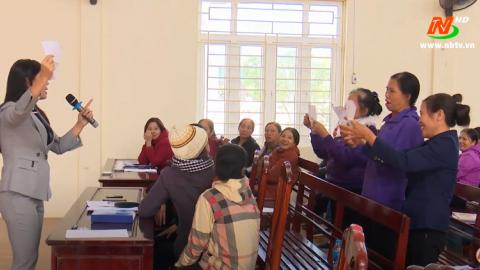 Tập huấn nghiệp vụ công tác dân số