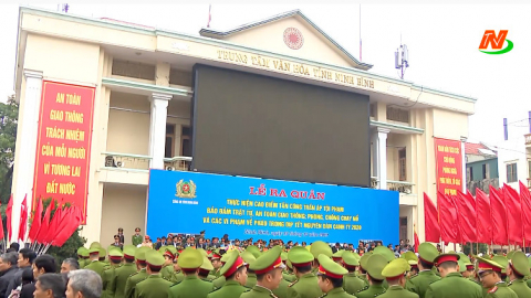 Thành phố Ninh Bình: Công an TP Ninh Bình đảm bảo ANTT và ATGT dịp tết Nguyên đán Canh Tý