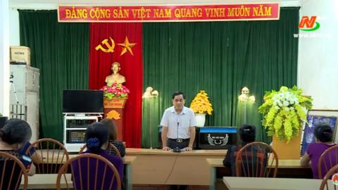 Thành phố Ninh Bình đẩy mạnh thông tin, tuyên truyền về kết quả Đại hội Đảng bộ Tỉnh lần thứ XXII