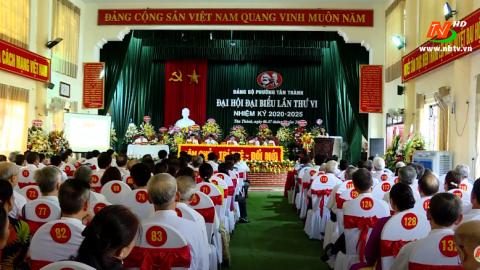 Thành phố Ninh Bình đẩy nhanh tiến độ Đại hội Đảng cấp cơ sở