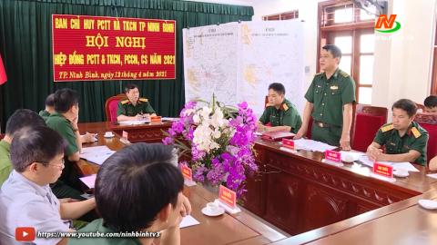 Thành phố Ninh Bình hiệp đồng trong phòng chống thiên tai và tìm kiếm cứu nạn