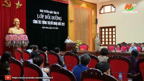 Thời sự Tối Ninh Binh TV - 13/4/2021