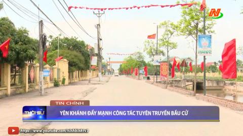 Thời sự Tối Ninh Binh TV - 15/05/2021.