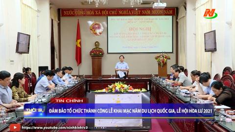 Thời sự Tối Ninh Binh TV - 17/4/2021