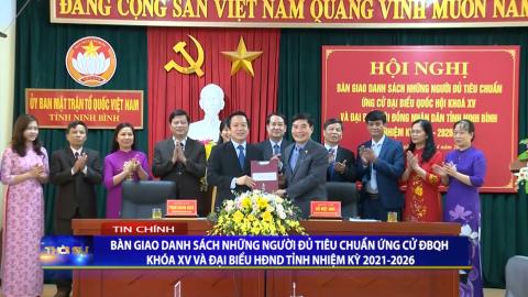 Thời sự Tối Ninh Binh TV - 19/4/2021