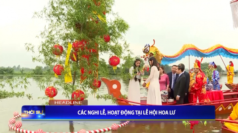 Thời sự Tối Ninh Binh TV - 20/4/2021.
