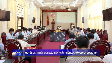 Thời sự Tối Ninh Binh TV - 30/4/2021
