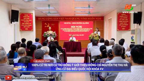 Thời sự Tối Ninh Binh TV - 3/4/2021