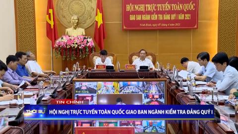 Thời sự Tối NinhBinh TV - 07/4/2021