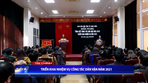 Thời sự Tối NinhBinh TV - 12/01/2021