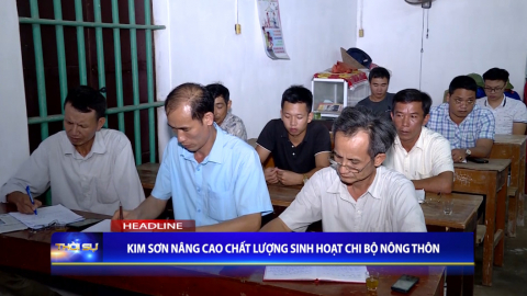 Thời sự Tối NinhBinh TV - 13/09/2020