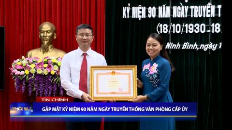 Thời sự Tối NinhBinh TV - 13/10/2020
