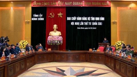 Thời sự Tối NinhBinh TV - 14/01/2021