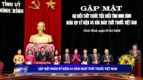 Thời sự Tối NinhBinh TV - 19/02/2020