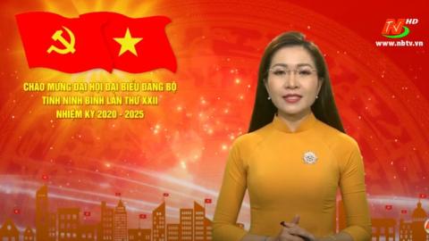 Thời sự Tối NinhBinh TV - 21/10/2020