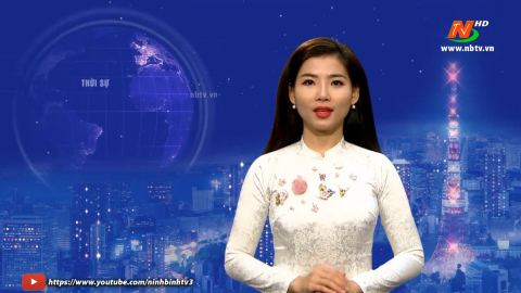 Thời sự Tối NinhBinh TV - 22/01/2021