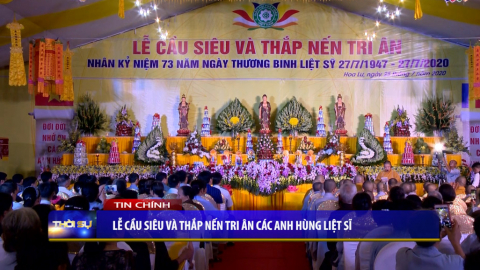 Thời sự Tối NinhBinh TV - 26/07/2020