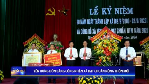Thời sự Tối NinhBinh TV - 27/09/2020