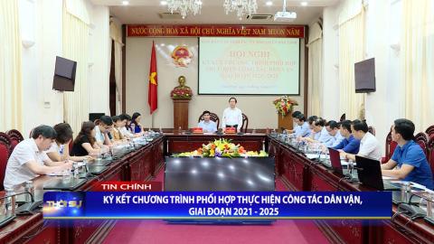 Thời sự Tối NinhBinh TV ngày 02/4/2021
