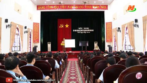 Thời sự Trưa Ninh Binh TV - 16/4/2021