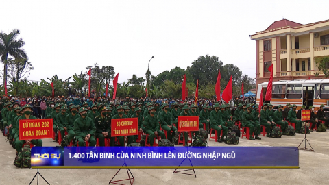 Thời sự Trưa NinhBinh TV - 03/03/2021